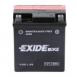 Exide Bike Maintenance Free AGM 12V 6 Ah 100A YTX7L-BS