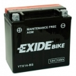 Exide Bike Maintenance Free AGM 12V 12 Ah 200A YTX14-BS