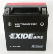Exide Bike Maintenance Free AGM 12V 14 Ah 215A YTX16-BS