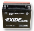 Exide Bike Maintenance Free AGM 12V 18 Ah 270A YTX20H-BS