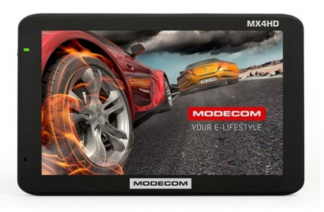 Modecom Freeway MX4 HD + AutoMapa Europy 8GB FLASH