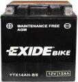 Exide Bike Maintenance Free AGM 12V 12 Ah 210A YTX14AH-BS