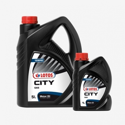 Lotos City Gas 15W40 5L