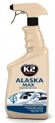K2 ALASKA odmrażacz do szyb 700 ml