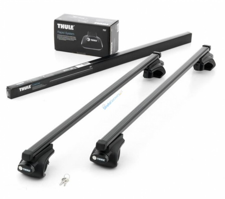 Thule Rapid Railing 757 + 7123 na reling (127 cm, stal)