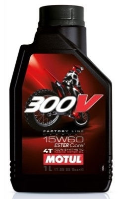Motul 300V Factory Line Off Road 4T 15W60 1L