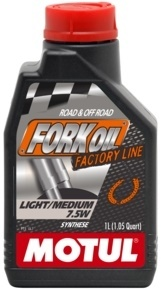 Motul Fork Oil Factory Line Light Medium 7,5W 1L