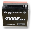 Exide Bike Maintenance Free AGM 12V 18 Ah 270A YTX20HL-BS