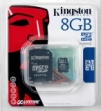 Karta pamięci SD/microSD 8 GB Kingston