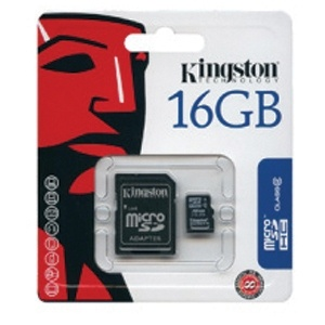 Karta pamięci SD/microSD 16 GB Kingston