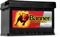 Banner POWER BULL P7412 12V 74 Ah / 680 A