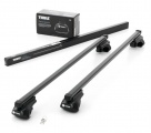 Thule Rapid Railing 757 + 7125 na reling (150 cm, stal)